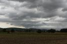 düstere Wolken