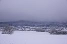 Schneesturm im Anmarsch